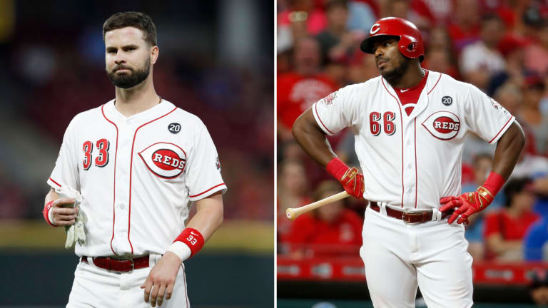 Wednesday's Hot Clicks: Reds Outfielder Finds Out About Puig Trade From Fan Yelling at Him