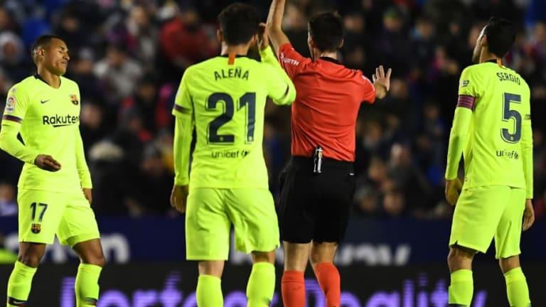 El 1x1 de los futbolistas del FC Barcelona en el partido de ida de Copa del Rey ante el Levante