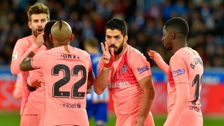 El 1x1 del FC Barcelona en su visita al Deportivo Alavés (0-2)
