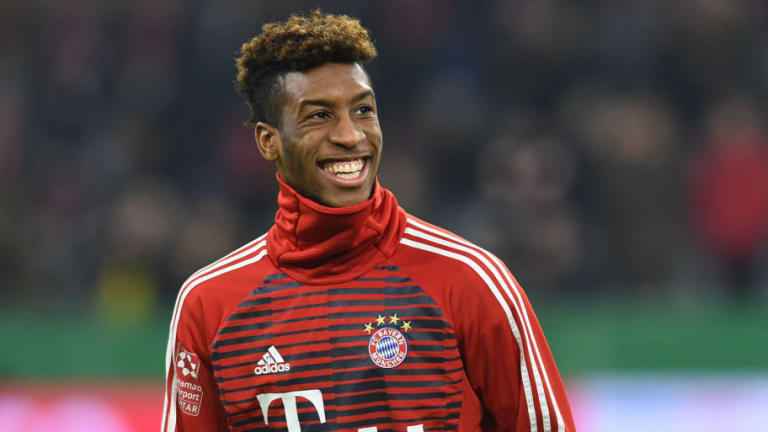 Bayern Munich Confirm Kingsley Coman Is Available for Liverpool Clash Despite Ankle Injury