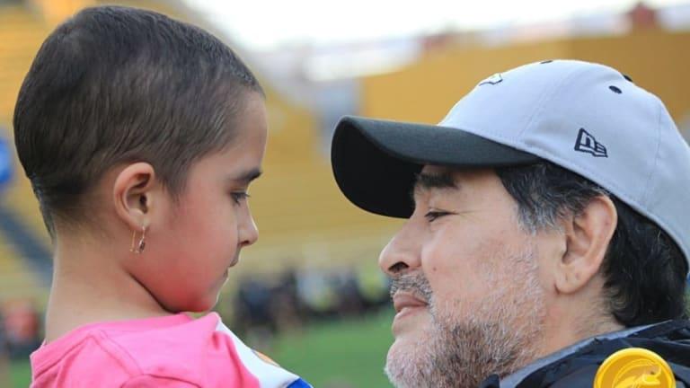 El video de la niña que baila como Diego Armando Maradona