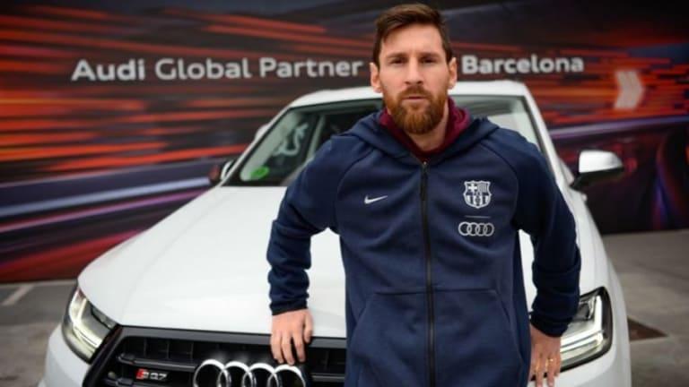 FOTOS | Los nuevos Audis de la plantilla del FC Barcelona