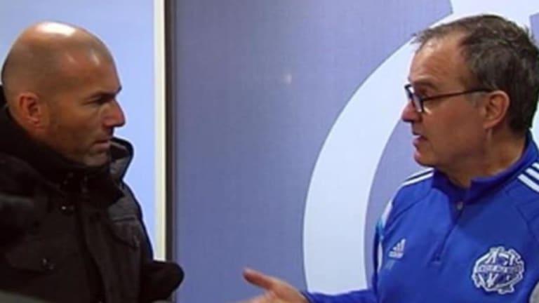 La genial charla táctica entre Marcelo Bielsa y Zinedine Zidane