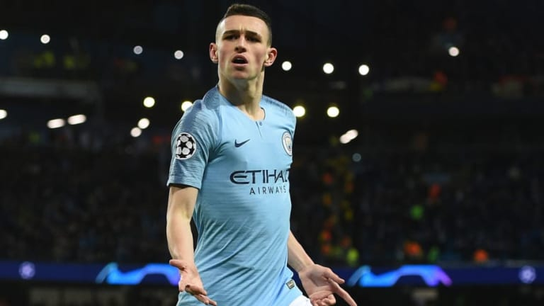 Phil Foden Becomes Man City's Youngest Ever Champions League Goalscorer in 7-0 Win Over Schalke