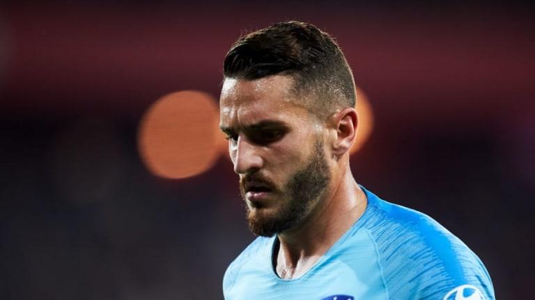 Koke, dolido, le pide disculpas a la afición del Atlético de Madrid