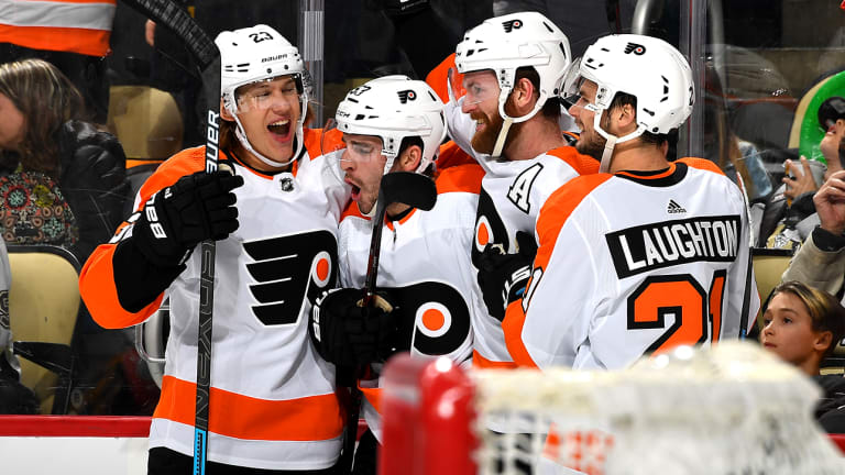 Flyers Rally Late to Stun Penguins in Overtime