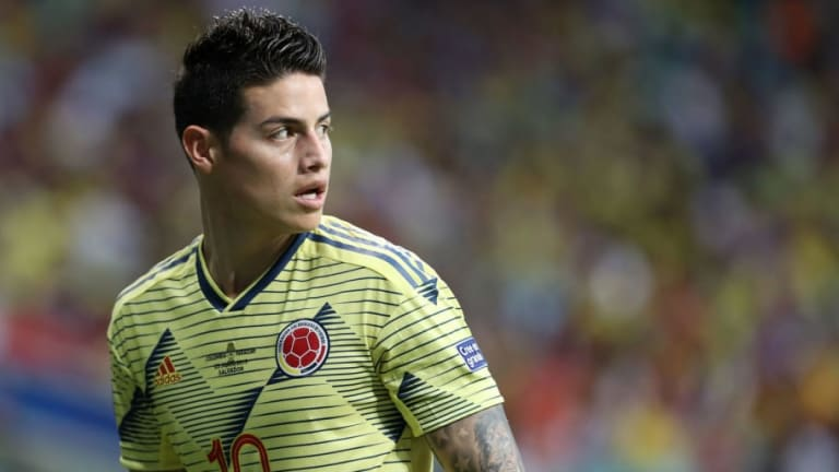 James Rodriguez Linked With Shock Move to Atletico Madrid Despite Strong Napoli Interest