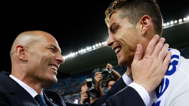 Zidane responde a las preguntas sobre la vuelta de Cristiano Ronaldo al Real Madrid