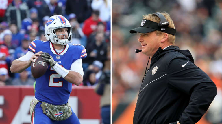Uh Oh, Jon Gruden Likes What He Sees in Nathan Peterman