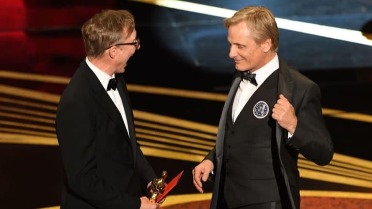 Locura azulgrana | Viggo Mortensen vistió el escudo de San Lorenzo en los Oscar