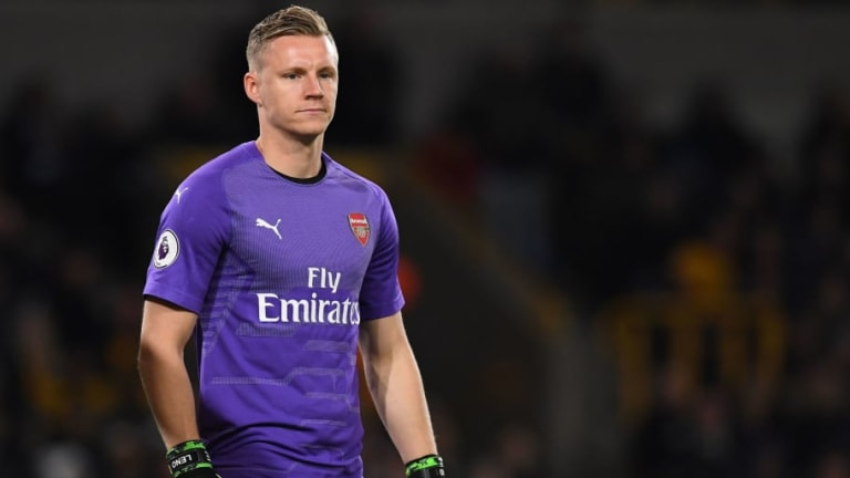 Bernd Leno Eyeing More Game Time in Cup Competitions After Petr Cech Departure