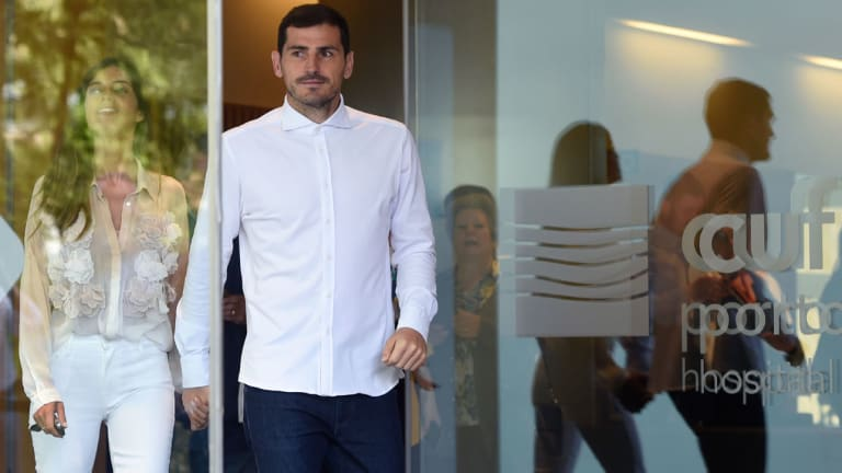 Iker Casillas Leaves Hospital After Heart Attack Scare, Uncertain About Career Future