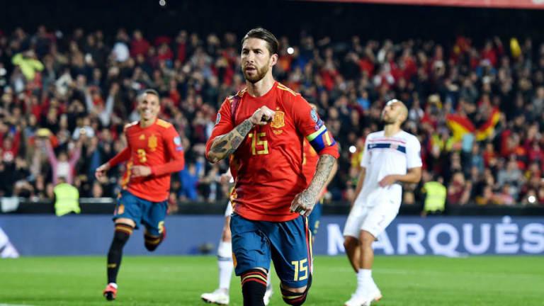 Sergio Ramos cumple 33 años en su mejor momento deportivo