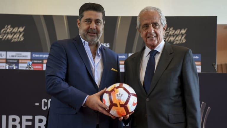 """La filosa declaración de Daniel Angelici: """"Boca es el único grande"""""""