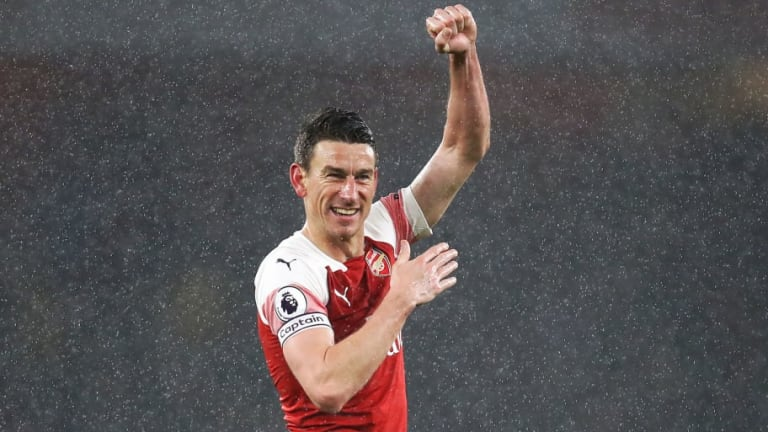 Laurent Koscielny Braved Painful Gash to the Leg During Arsenal's Victory Over Manchester United