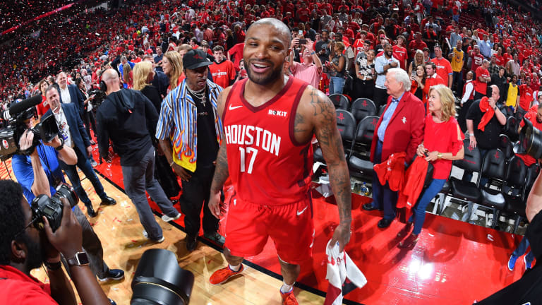 The Last Line of Defense: P.J. Tucker Does It All for the Rockets