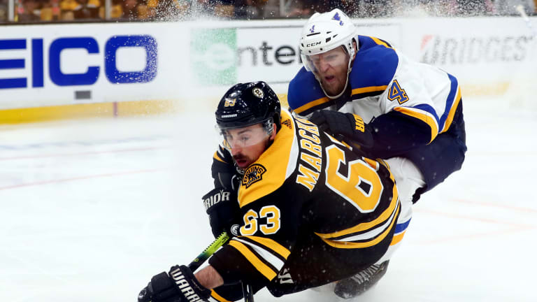 Blues' Physical Tone Evens Stanley Cup Final