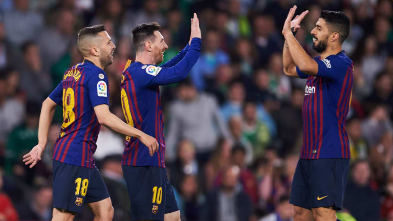 Real Betis 1-4 Barcelona: Report, Ratings & Reaction as Messi Hat-Trick Extends La Blaugrana's Lead
