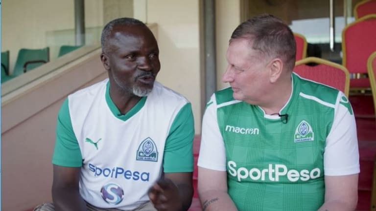 Video: Lifelong Everton Fan Sent to East Africa's Greatest Rivalry