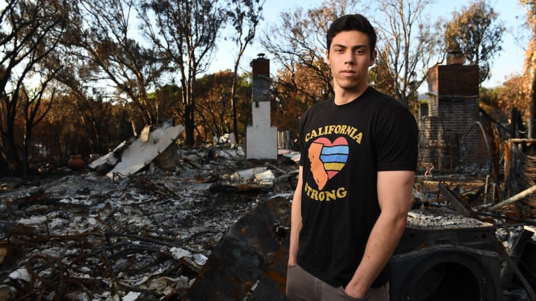 First, Christian Yelich Helped California Heal From Fire. Then He Celebrated His MVP