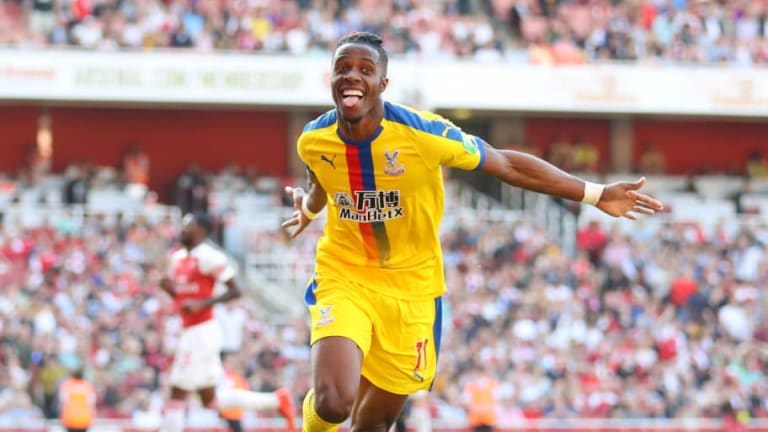 Wilfried Zaha Asks Crystal Palace to Let Him Join Arsenal This Summer