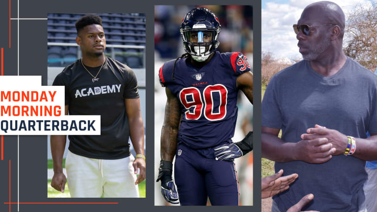It's the Heart of the NFL Offseason, and Anthony Lynn Is Making the Most of It