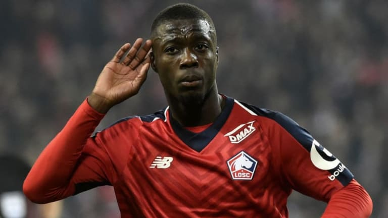 Lille President Reveals Asking Price for Nicolas Pepe & Explains Why Star Winger Must Leave