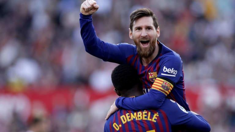 Messi imitó el festejo de Pelé en el Mundial del '70 y explotaron las redes sociales