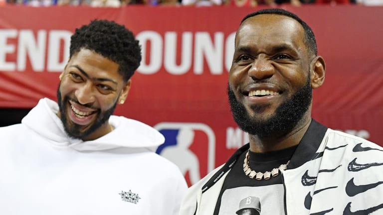 LeBron James Celebrates Taco Tuesday With New Lakers Teammate Anthony Davis
