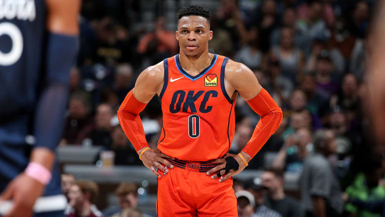 Should Russell Westbrook Take Heat for Paul George Leaving?   Open Floor Podcast