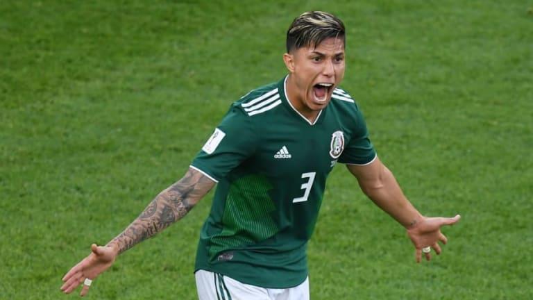 Carlos Salcedo se mostró ilusionado de que lo entrene el 'Tata' Martino