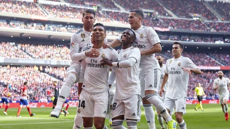El 1x1 de los jugadores del Real Madrid en la victoria ante el Atlético de Madrid