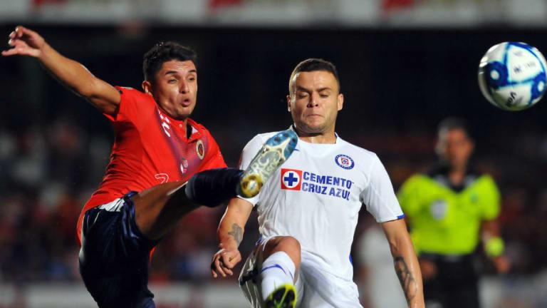 El 1x1 de los jugadores de Cruz Azul en su empate frente a Veracruz