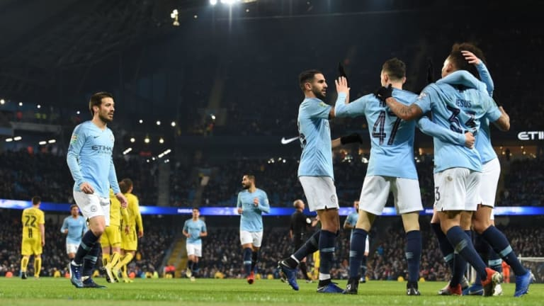 Man City 9-0 Burton Albion: Report, Ratings and Reaction as the Holders Thump Nigel Clough's Men