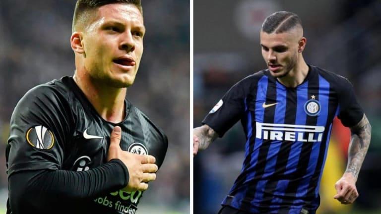 El PSG quiere a Jovic e Icardi para reforzar su delantera