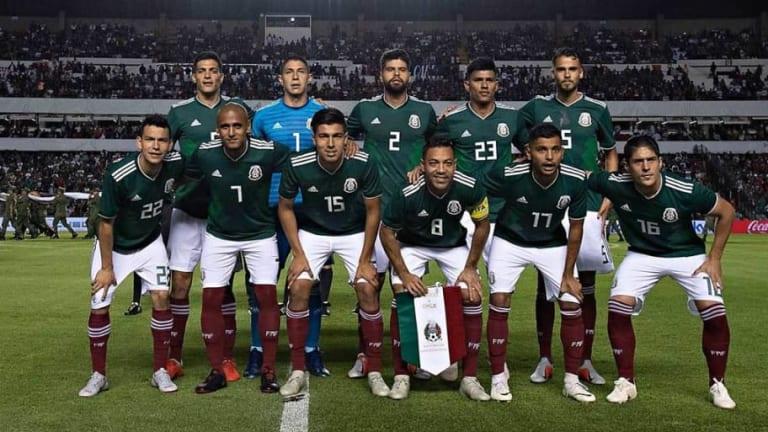Se filtran fotos del posible nuevo modelo de la camiseta de la Selección Mexicana