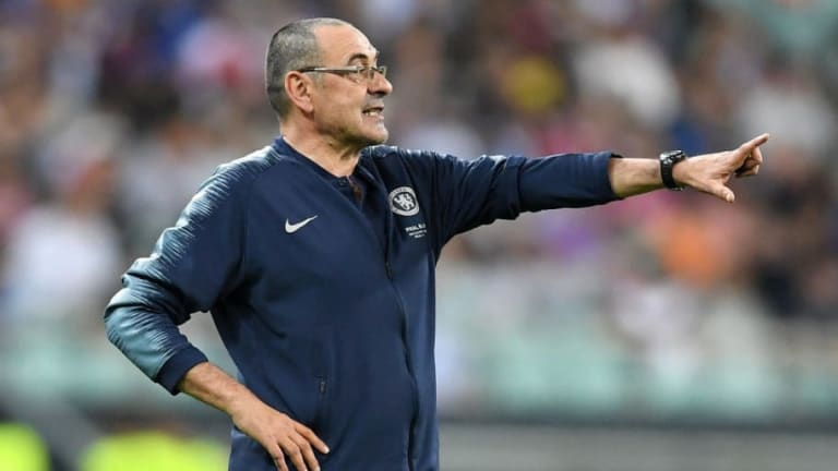 Chelsea Reach Compensation Deal With Juventus Over Imminent Maurizio Sarri Departure
