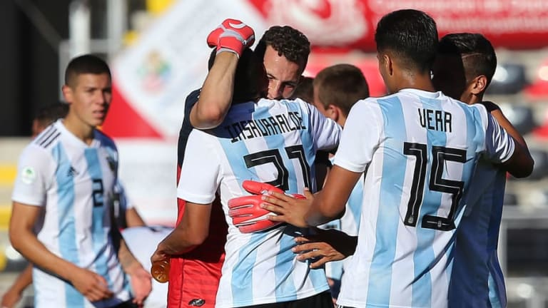Argentina está clasificado a la fase final del Sudamericano sub-20