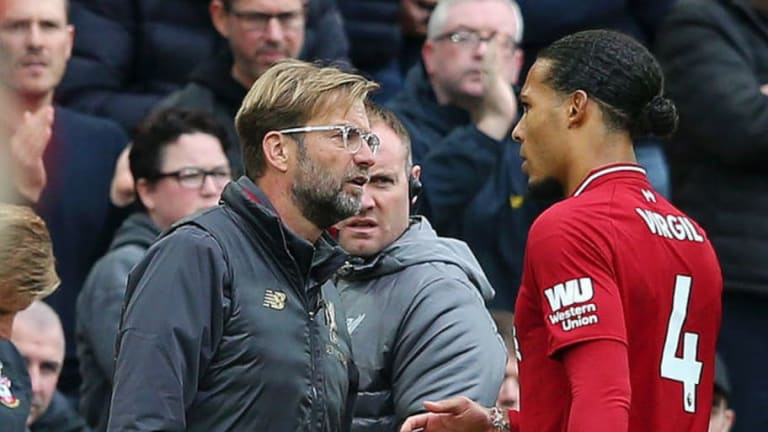 Virgil van Dijk Admits 'Truth' Has to Be Told Sometimes Following Touchline Row With Jurgen Klopp