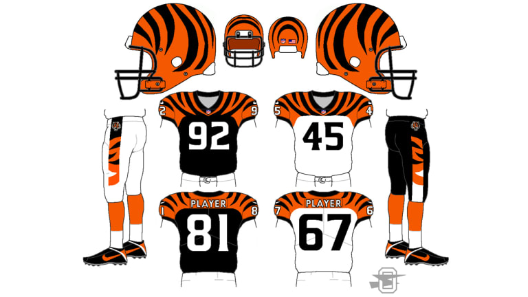 The Results Are In: The Uni Watch Cincinnati Bengals Redesign Challenge