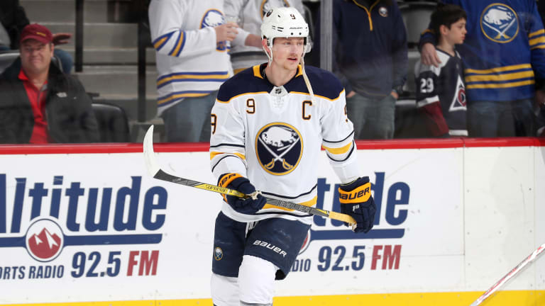 Sabres Forward Jack Eichel Suspended for Two Games