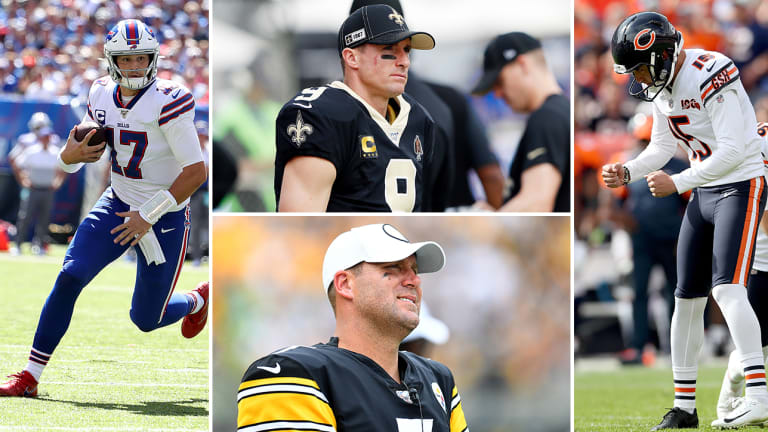 Week 2 Takeaways: The Bears Can Kick, Josh Allen Owns New York, Brees and Ben Go Down
