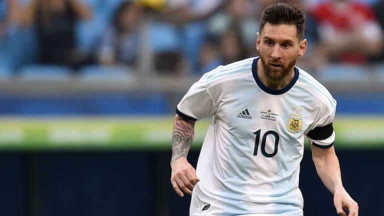 Leo Messi es el mayor regateador de la Copa América de Brasil 2019