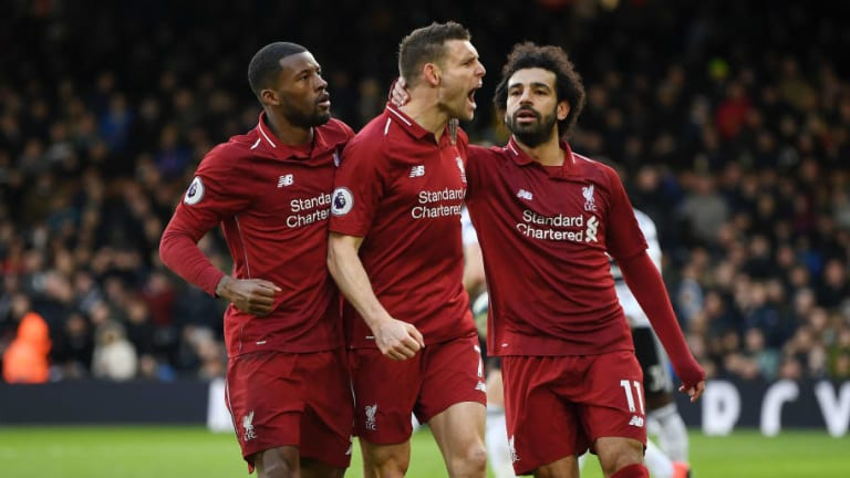 Fulham 1-2 Liverpool: Report, Ratings & Reaction as Reds Survive Scare and Return to PL Summit