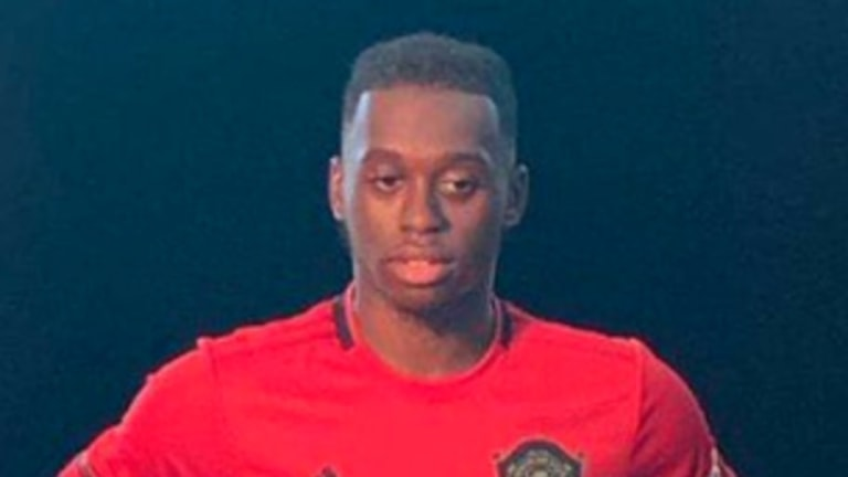 Aaron Wan-Bissaka Pictured in Full Man Utd Kit for the First Time in Leaked Unveiling