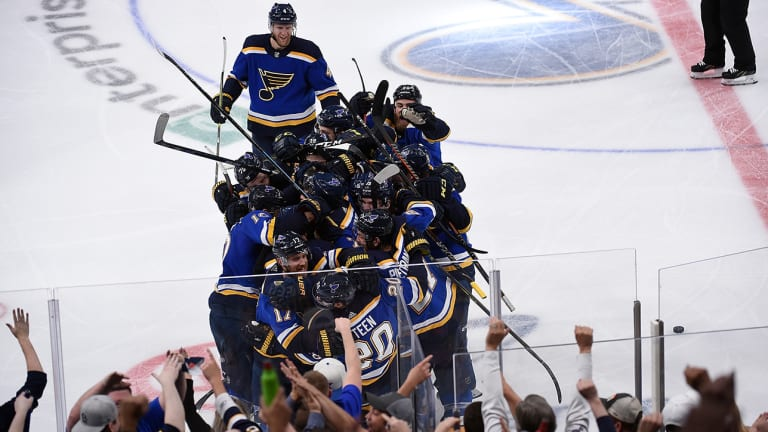 Blues Continue Remarkable Turnaround by Earning Spot to Western Conference Final