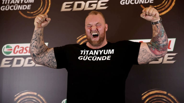 Monday's Hot Clicks: 'The Mountain' Loses World's Strongest Man Crown
