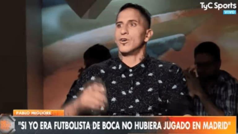 """Pablo Migliore explotó al hablar de la final de la Libertadores: """"Metete la copa dónde quieras..."""""""