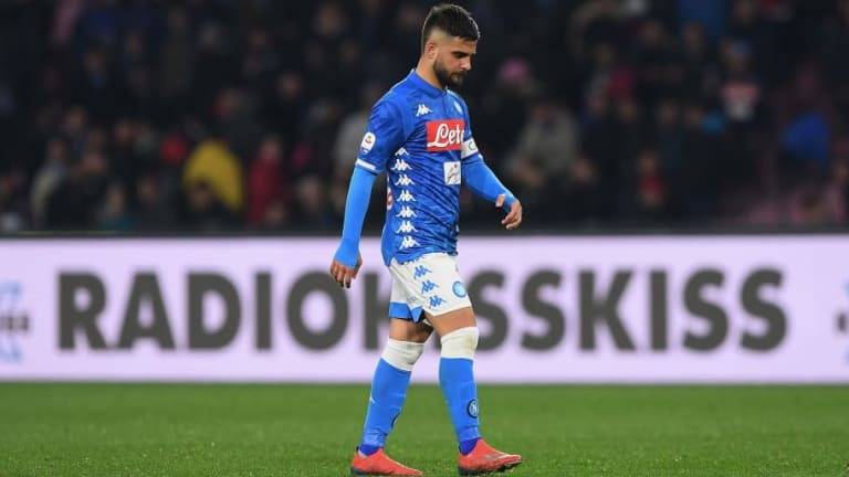 Napoli Trio Set to Miss First Leg of Arsenal Europa League Tie With Injury