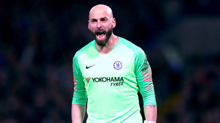 Willy Caballero Reveals How Chelsea Number One Kepa Arrizabalaga Reacted to Being Dropped